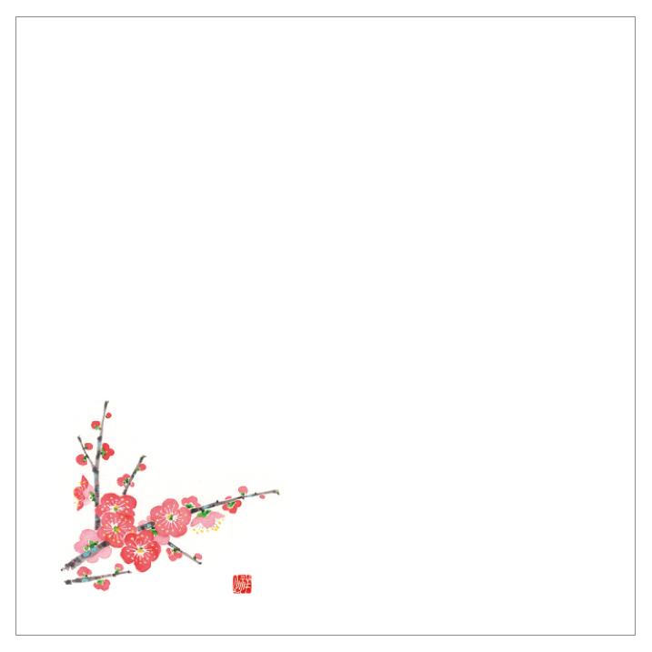 耐油天紙カラー四寸 No.0023 梅