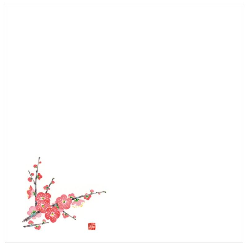 耐油天紙カラー五寸 No.0035 梅