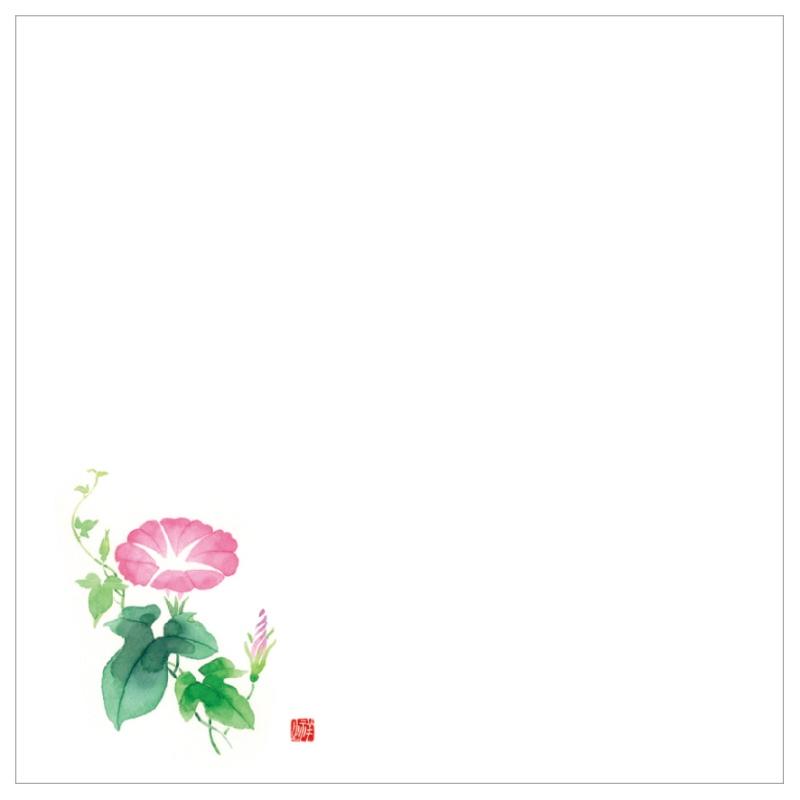 耐油天紙カラー五寸 No.0040 朝顔