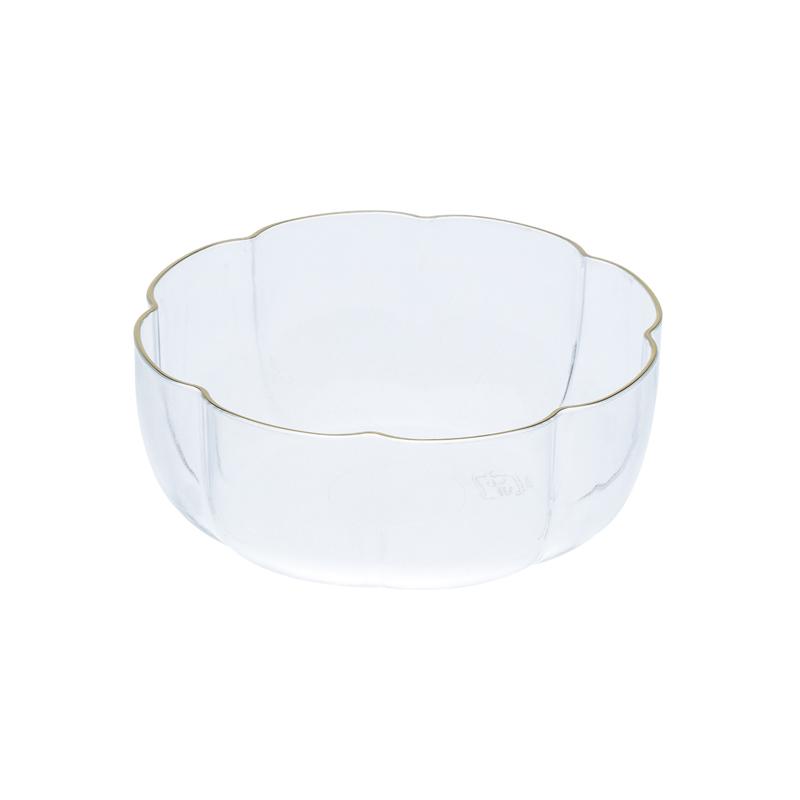 金線入サンフラワーカップ 透明