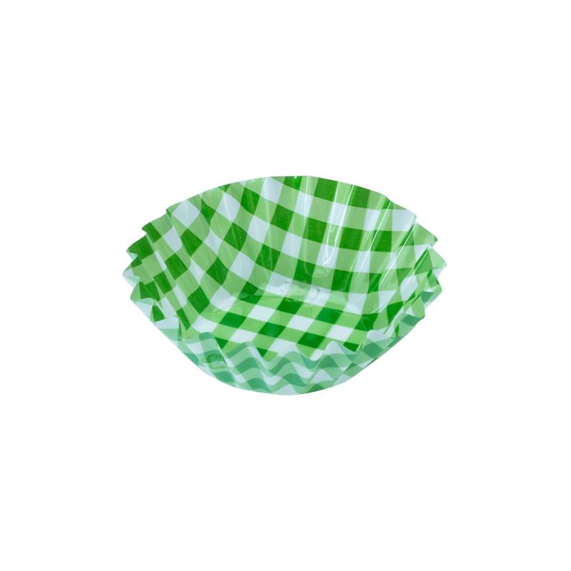 フードケース 格子緑 5F