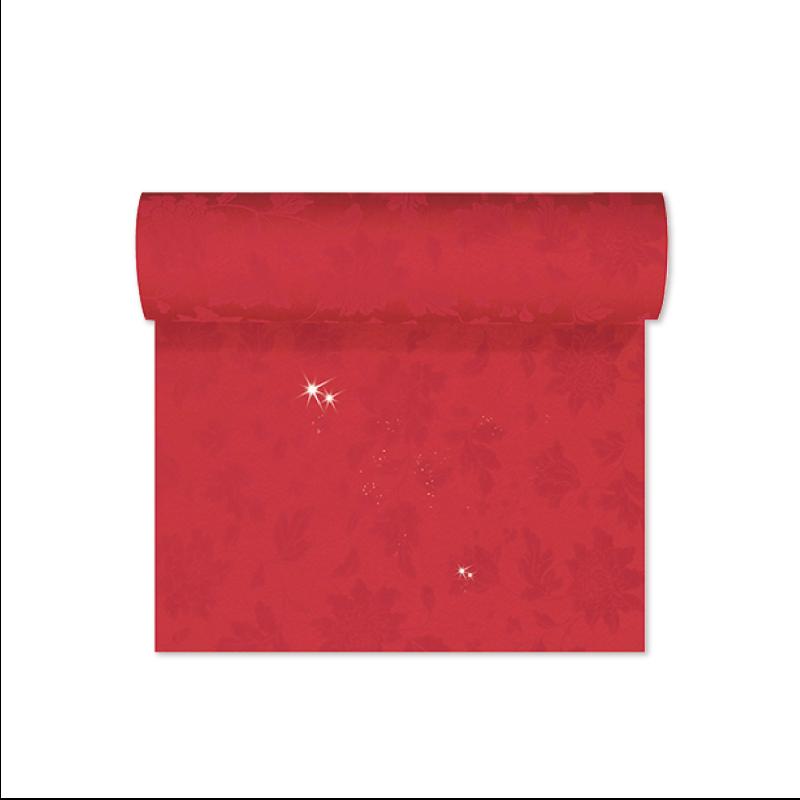 DUNI 167406 ブリッジランナー エレガンス 0.45×24m レッド
