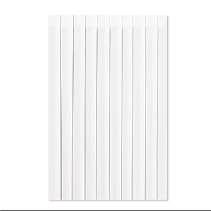 DUNI 9043 テーブルスカート 0.72×4m ホワイト