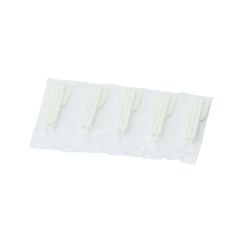 折り畳みスプーン#100 白 5連